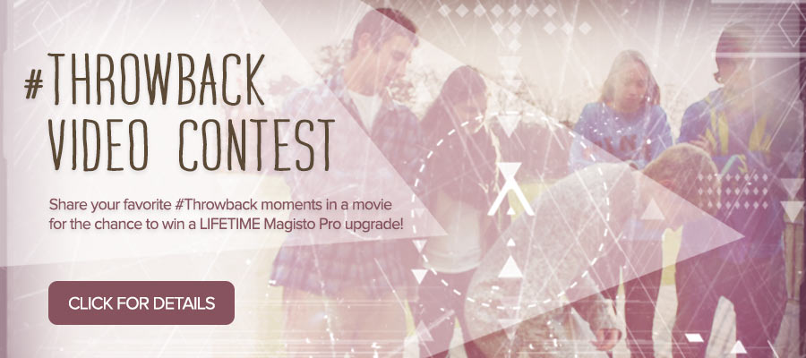 #Throwback Video Contest