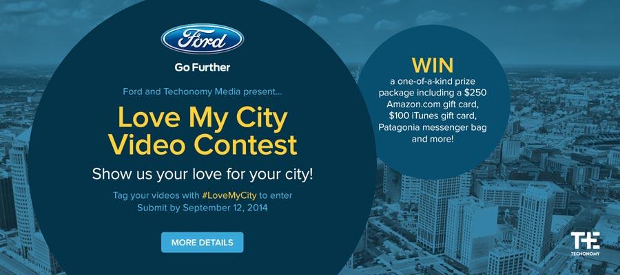 Love My City Video Contest